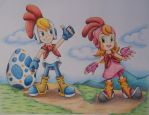 Billy Hatcher & Rolly Roll by Freddy-Kun-11