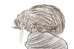 Pineapple the Kiwi by Bright-In-The-Night
