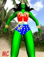 Wonder Woman Turned Into A Monster by The-Mind-Controller