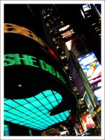 Times Square At Night 2 by Blood-Of-A-Pirate