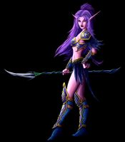 Night Elf 3 by LazarusReturns