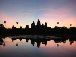 Angkor Wat by mainsprite