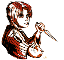Arya Stark Knife by xsilferx