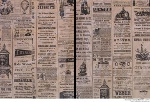 texture: vintage newspaper by sophiaastock