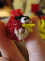 Tiny Angry Bird Knit by opiel16