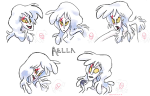 expression ref sheet- aella by littlenicky
