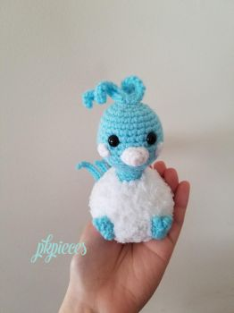 Altaria Plush / Amigurumi by pkpieces
