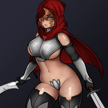 Art Trade (alexichabane): Imperial Knight by S-C-Y-K-E