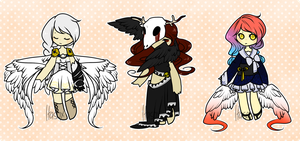 [itasox collab set: angels : AUCTION] by sockjuice