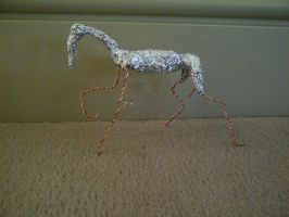 My first Ever Sculpture - Foil by TashaCraven