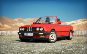 BMW 325i Convertible by M0NTEZUMA