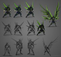 Dark Angel Designs by The-HT-Wacom-Man