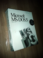 MS-DOS 5 by valleyofearwigs