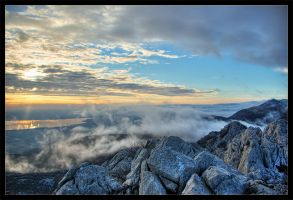 between the clouds and stones by ivancoric