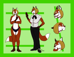 COMMISSION: Diane Reference by Rehgan
