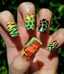 Nigel Thornberry Nail Art by KayleighOC