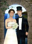 w.c. wedding picture by silentsketcher