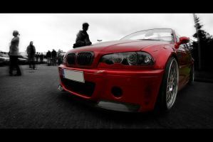 Candy Red Bmw by ShagStyle