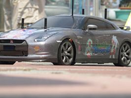 Panty and Stocking Nissan GT-R 7 by DenWingZero