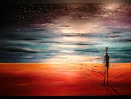Desolate - Painting by drewevans