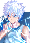 Happy Killua by leoflynn