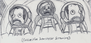 Interstellar Screaming sketch by SketchyBehavior