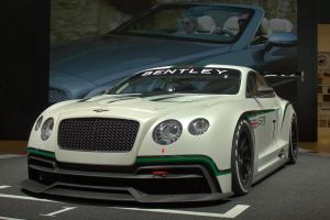 Paris 2012: Bentley Continental GT3 Concept by randomlurker