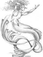 Mermaid in Motion by EsheMilana