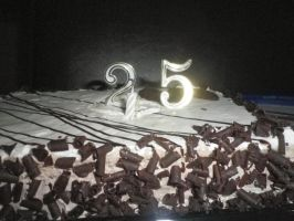 25 years cake by ionelat