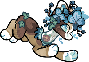 TN_Blue Orchids_Whitejade by griffsnuff