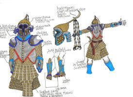 Middle Eastern Combat Suit by LooseMinded