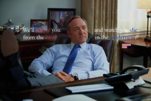 House of Cards_Francis (Frank) Underwood_Wallpaper by rickynt