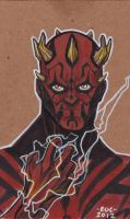 Darth Maul marker by MARR-PHEOS
