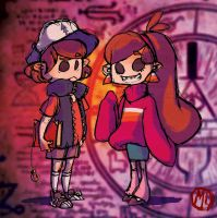 The Mystery Twins by Kidacashanaia
