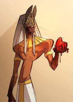 Anubis by CoconutMilkyway