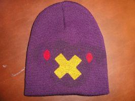 Drifblim Pokemon Hat -commission- by Sew-Madd