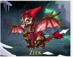 Ziek the dragon by speeddemon2tailed
