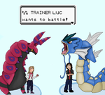Trainer Luc wants to battle! by CherrySwirl