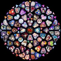 Stained glass collab by longestdistance