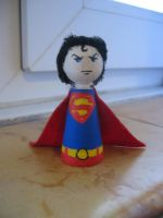 Cones: Superman by Poison-Harley