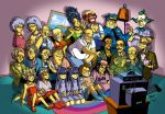 Anime Style Simpsons by ImHalfWitch