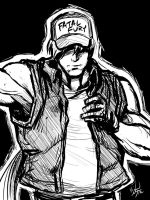 Terry Bogard scratch by MichaelMayne