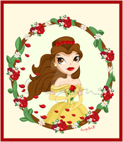 Princess Belle by OoAngeliusoO