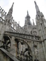 Gothic Cathedral Stock IV by Sasa-Stock