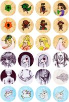 Button Collection 06 by zirio