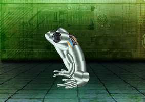 Robotic Frog by Revilonew