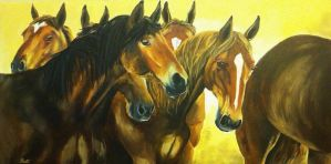 Mustangs by SydneyJoy
