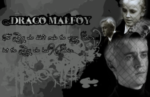 Draco Malfoy Wallpaper by VictoriaLovell93