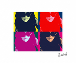 Thestral Warhol by x-Thestral-x