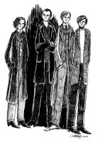 The Four Doctors by herbertzohl